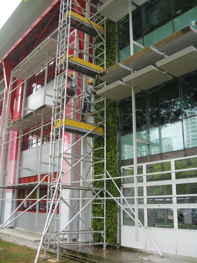Garden And Landscape Pte : Expedite facade services